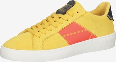 SCOTCH & SODA Baskets basses en jaune / rouge / noir, Vue avec produit