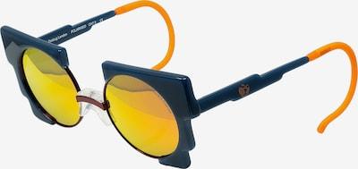 Zoobug Retrosonnenbrille 'Oscar' für Kinder in blau / mischfarben, Produktansicht