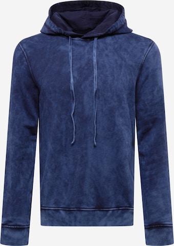 Sweat-shirt UNITED COLORS OF BENETTON en bleu