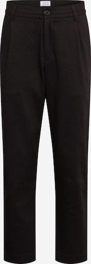 Libertine-Libertine Bukser med lægfolder 'Smoke' i sort, Produktvisning