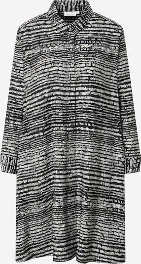 Rochie tip bluză 'Nala' Masai pe negru / alb, Vizualizare produs