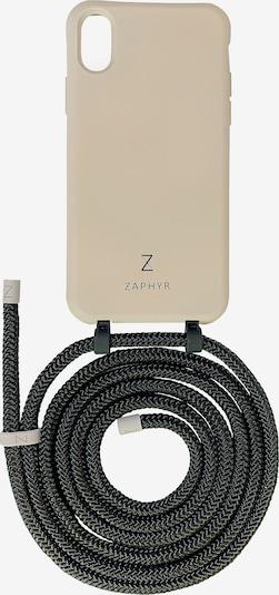 ZAPHYR Handyhülle mit Handykette 'iPhone XS Max' in grau / schwarz, Produktansicht