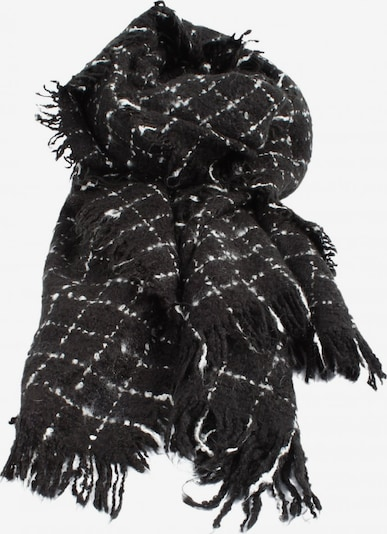 Pimkie Fransenschal in One Size in schwarz / weiß, Produktansicht