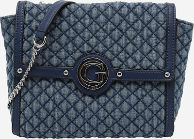 GUESS Crossbody bag 'HEYDEN' in Blue denim, Item view