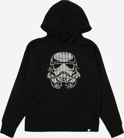 GAP Sweatshirt in de kleur Zwart / Wit, Productweergave