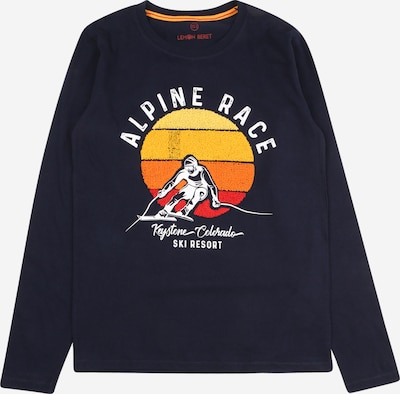 Marškinėliai iš LEMON BERET , spalva - tamsiai mėlyna / geltona / mišrios spalvos / oranžinė / balta, Prekių apžvalga