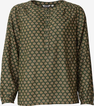 Indiska Bluse 'Aditi' in grün / khaki, Produktansicht