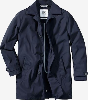 S4 Jackets Between-Seasons Coat in Blue