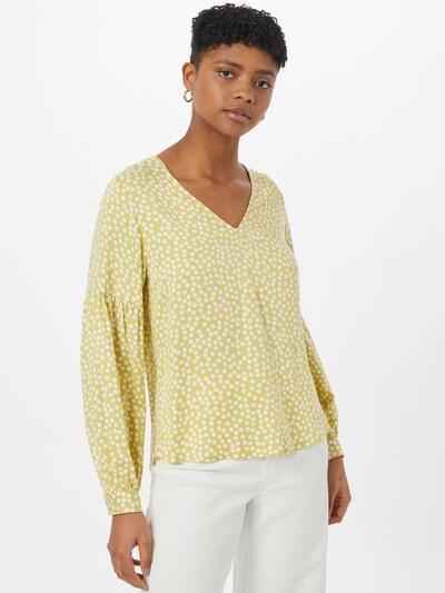COMMA Bluse in hellgrün / weiß, Modelansicht