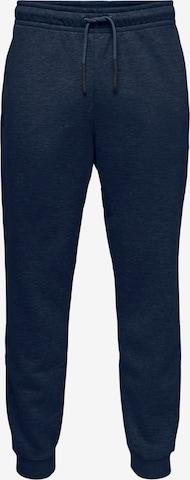 Pantalon Only & Sons en bleu