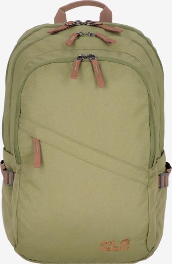JACK WOLFSKIN Rucksack in braun / grün, Produktansicht