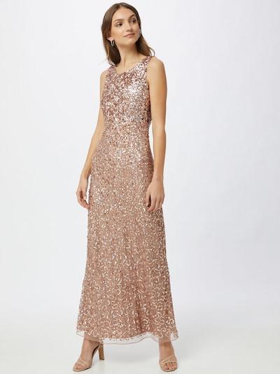 Sistaglam Společenské šaty 'BLAKELY' - růžově zlatá / stříbrná, Model/ka