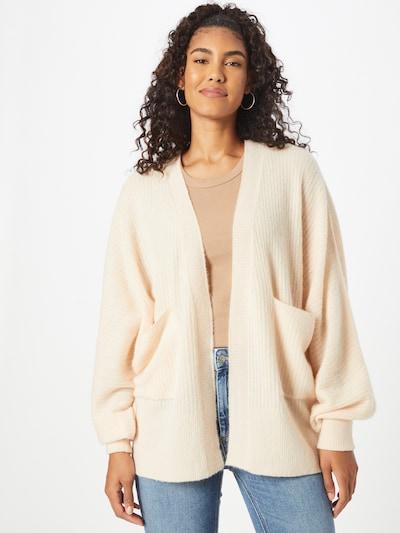 AMERICAN VINTAGE Knit Cardigan 'Kybird' in Cream, View model