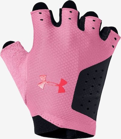 UNDER ARMOUR Sporthandschuh in pink / schwarz, Produktansicht