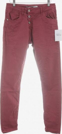 Please Now Slim Jeans in 28 in karminrot, Produktansicht