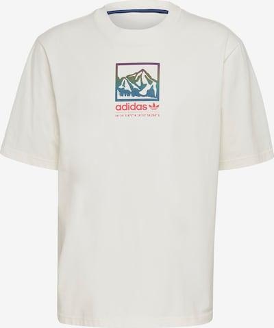 ADIDAS ORIGINALS T-Shirt in mischfarben / weiß, Produktansicht