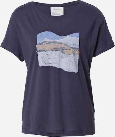 ARMEDANGELS Shirt 'NELA' in navy / opal / taubenblau / braun, Produktansicht