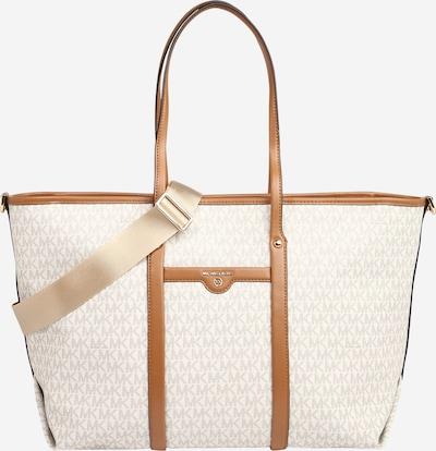 MICHAEL Michael Kors Shopper en crema / marrón / gris, Vista del producto
