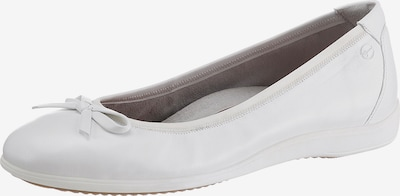 TAMARIS Baleriny w kolorze białym, Podgląd produktu