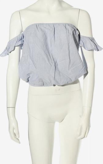 Brandy Melville Carmenshirt in XS-XL in blau, Produktansicht