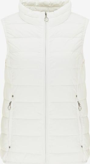 DreiMaster Maritim Gilet en blanc naturel, Vue avec produit
