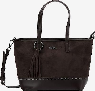 IZIA Handtasche in dunkelbraun, Produktansicht