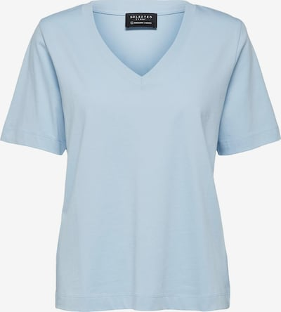Maglietta SELECTED FEMME di colore blu chiaro, Visualizzazione prodotti