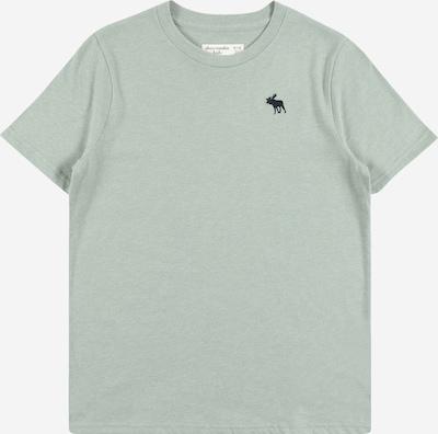 Maglietta Abercrombie & Fitch di colore verde pastello / nero, Visualizzazione prodotti