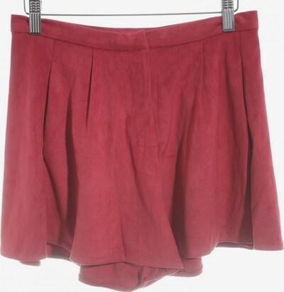 pepaloves High-Waist-Shorts in XS in karminrot, Produktansicht