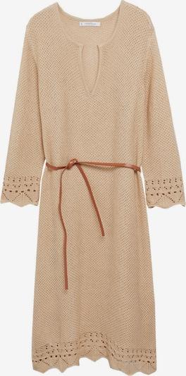 MANGO Kleid 'Rabat' in camel, Produktansicht