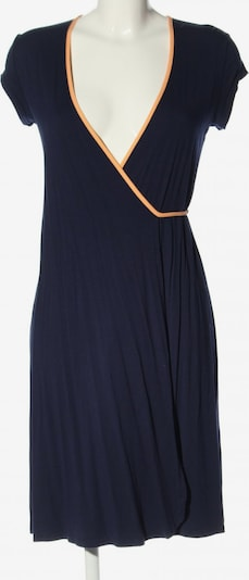 UVR Connected Wickelkleid in S in blau / hellorange, Produktansicht