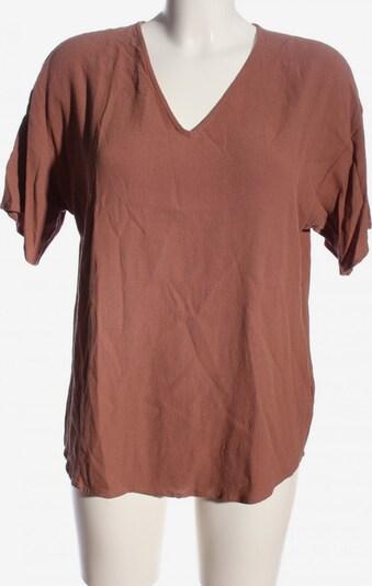 modström Kurzarm-Bluse in L in braun, Produktansicht