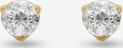 FAVS Ohrringe in gold / weiß, Produktansicht