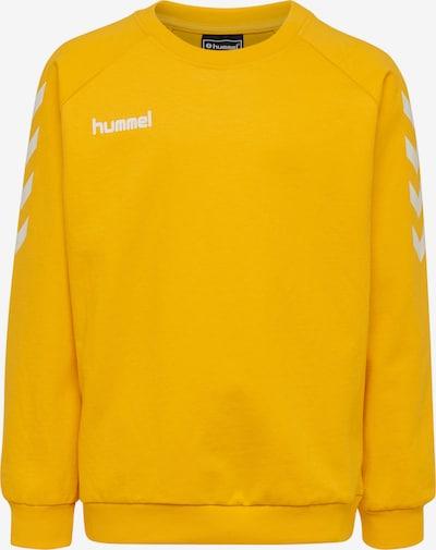 Hummel Sportief sweatshirt in de kleur Geel, Productweergave