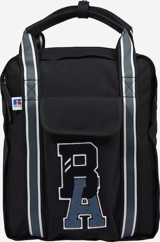 BOSS Seljakott 'Backpack squared x Russell Athletics', värv sinine