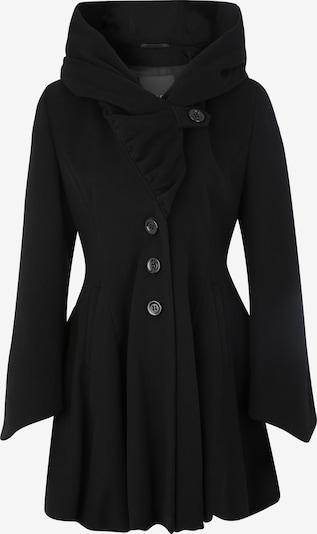ERICH FEND Wollmantel 'ALVY' in schwarz, Produktansicht
