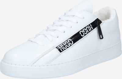 HUGO Sneaker 'Deva' in schwarz / weiß, Produktansicht
