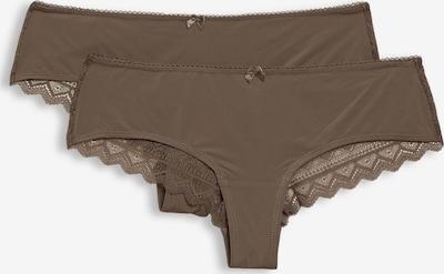 ESPRIT Panty in mokka, Produktansicht