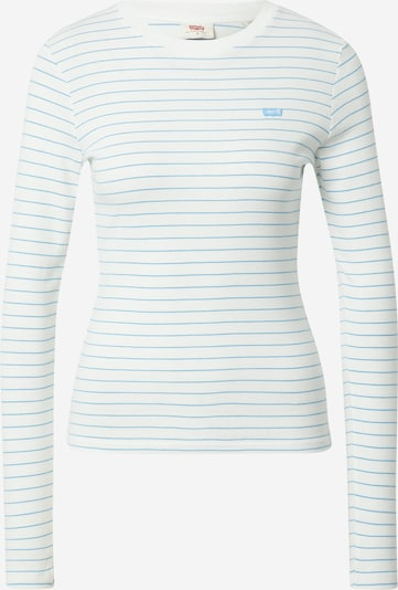 LEVI'S Μπλουζάκι 'BABY' σε γαλάζιο / λευκό, Άποψη προϊόντος