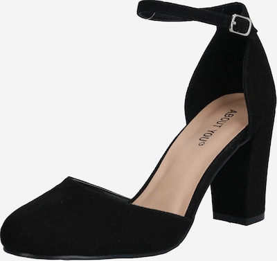 ABOUT YOU Pumps 'Eva' i svart, Produktvy
