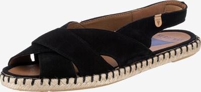 VERBENAS Sandale 'Serraje' in schwarz, Produktansicht