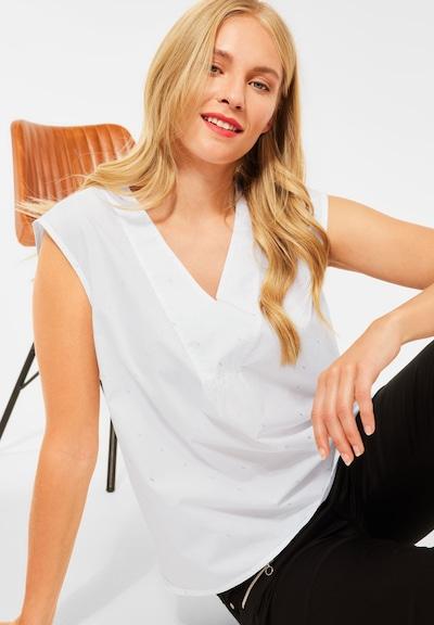 STREET ONE Bluse in weiß, Modelansicht