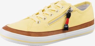 Inselhauptstadt Sneaker in braun / gelb / rot / schwarz, Produktansicht