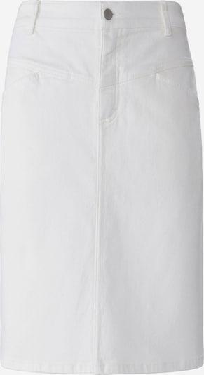 DAY.LIKE Jeansrock in weiß / white denim, Produktansicht