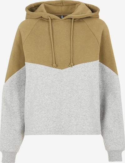 PIECES Sweatshirt 'Chilli' in hellgrau / oliv, Produktansicht