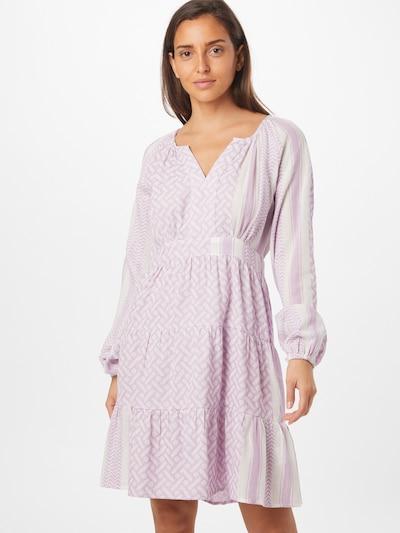 Cecilie Copenhagen Košilové šaty 'Monica' - fialová / bílá, Model/ka