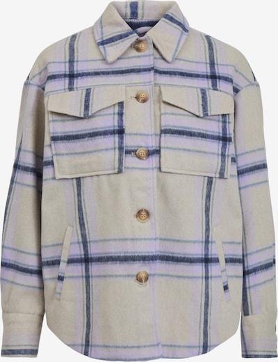 VILA Between-Season Jacket in Navy / Purple / Pastel purple, Item view