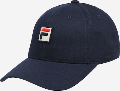 FILA Cap in navy / rot / weiß, Produktansicht