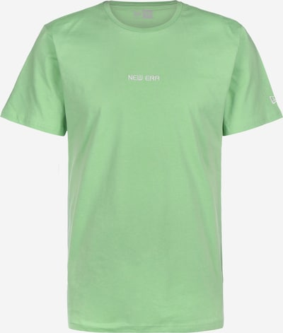 NEW ERA T-Shirt in grün / weiß, Produktansicht
