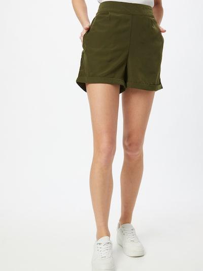 VERO MODA Pantalon à pince 'BIBI' en olive, Vue avec modèle